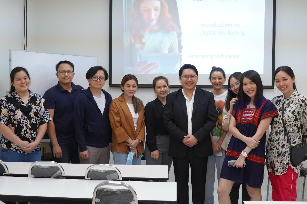 บรรยากาศ Class เรียน digital marketing
